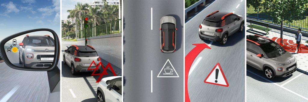 Ayudas a la conducción del nuevo C3 Aircross