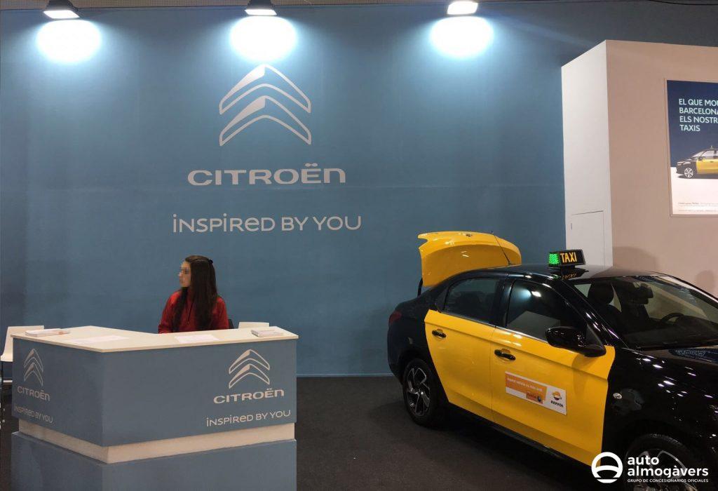 Citroën C-Elysée taxi Barcelona