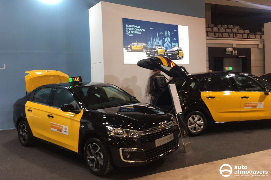 Auto Almogàvers en la Feria del Taxi Barcelona