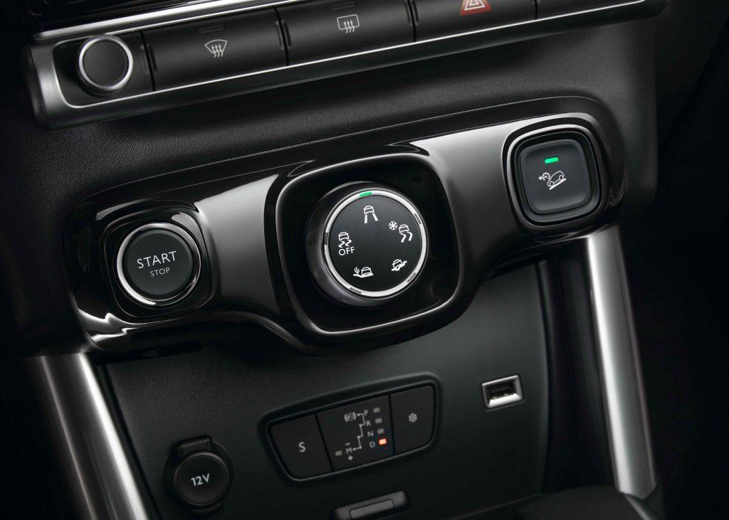 El Grip Control se activa girando el mando situado en la consola