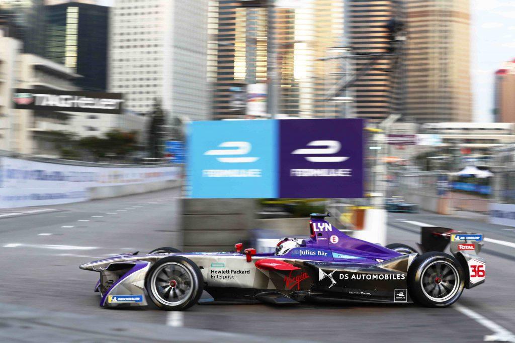 Formula E vehículo equipo DS Virgin Racing