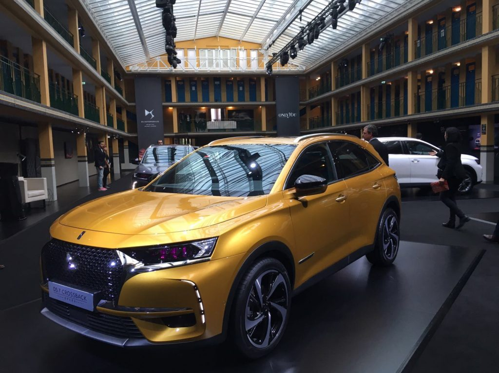 DS 7 Crossback en la DS Week 2017
