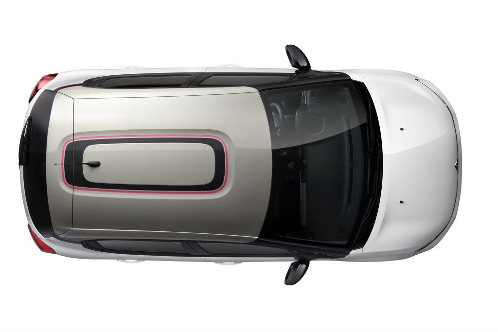 Serie especial Citroën C3 Elle detalle techo