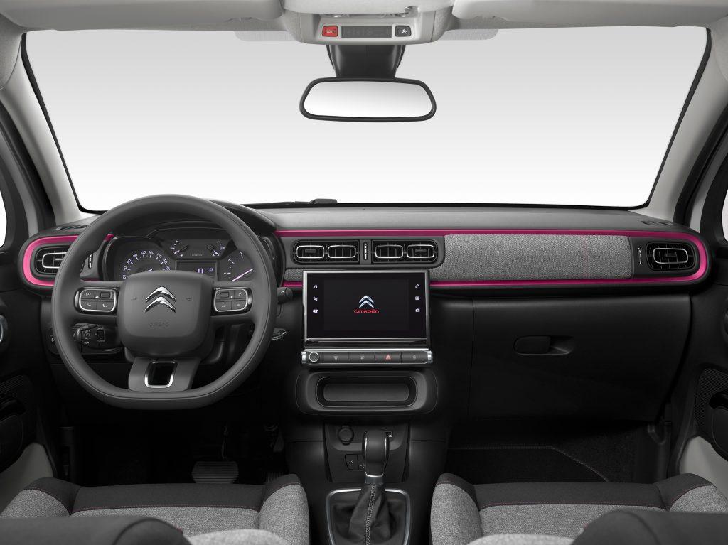 Serie especial Citroën C3 Elle interior