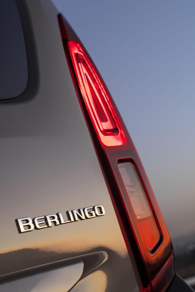 Nuevo Citroën Berlingo detalle luces