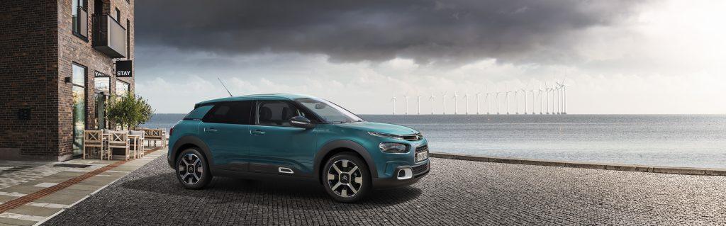 Nueva berlina Citroën C4 Cactus lateral