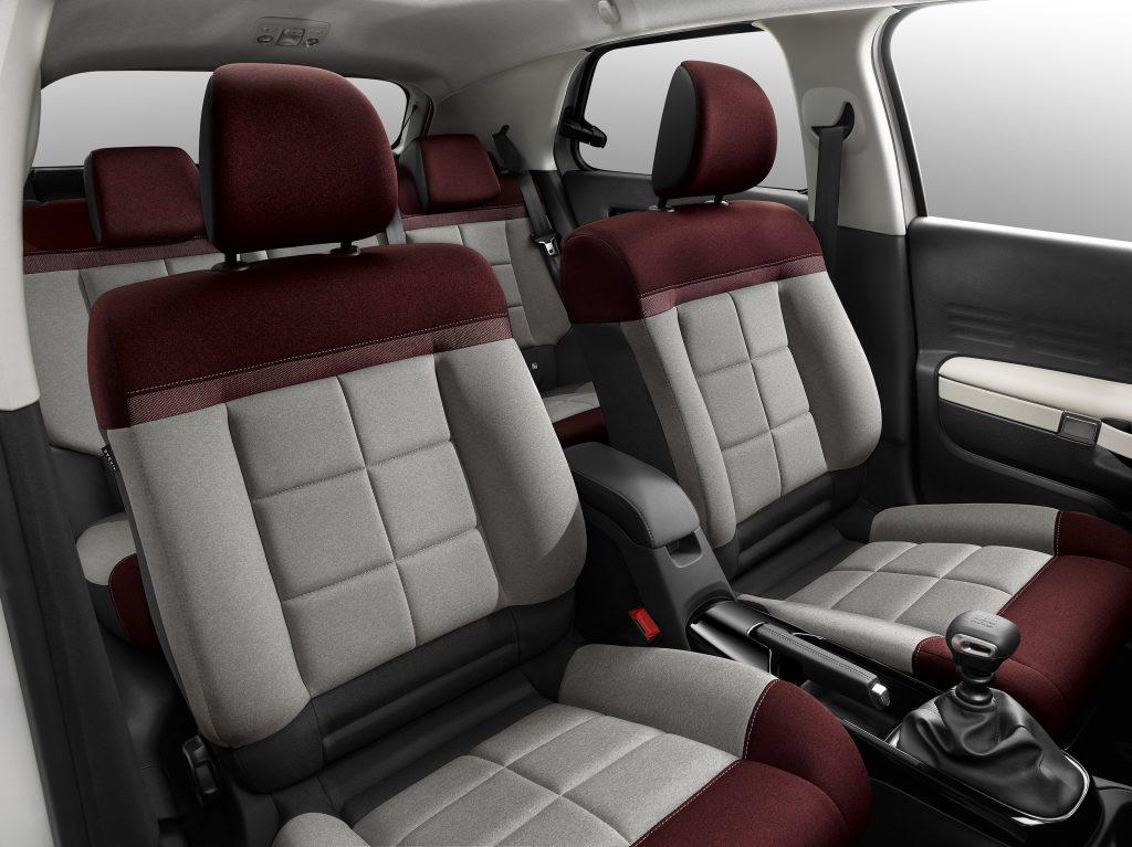 Nueva berlina Citroën C4 Cactus edición CoolComfort interior