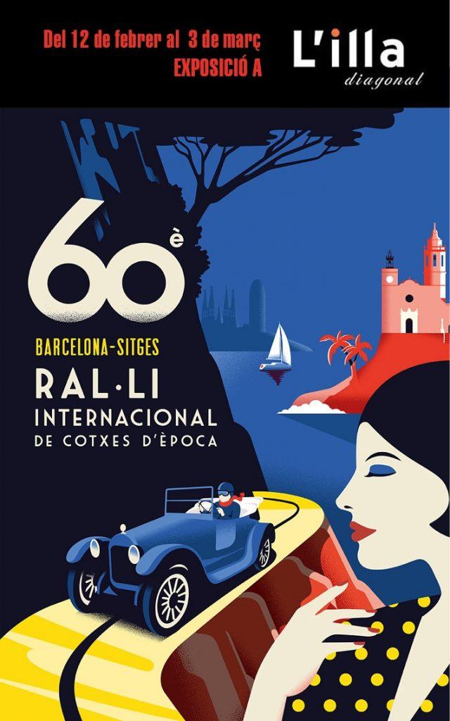 Exposición Rally Internacional de Coches de Época Barcelona-Sitges