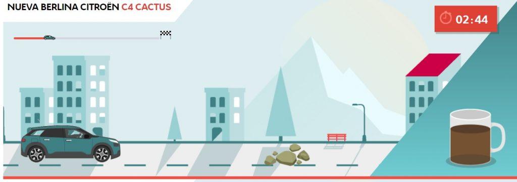 Nueva berlina C4 Cactus juego