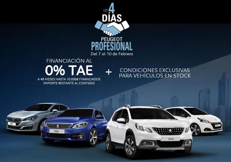 4 Días Peugeot Profesional turismos