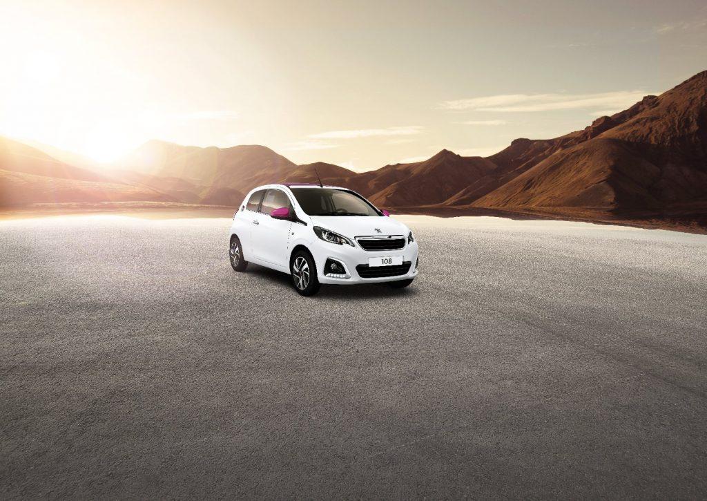 Peugeot 108: urbano, ecológico, a la moda y con un embajador de lujo