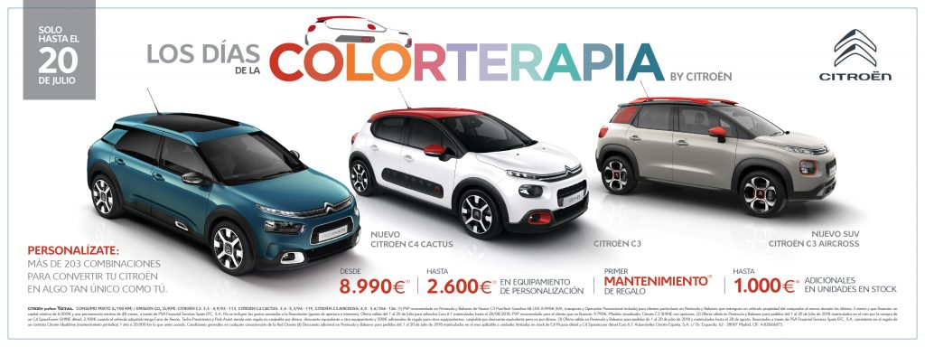 Días de la Colorterapia by Citroën