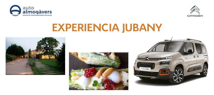 """Ven a conocer el Nuevo Berlingo en Mercabarna y gama una """"Experiencia Jubany"""""""