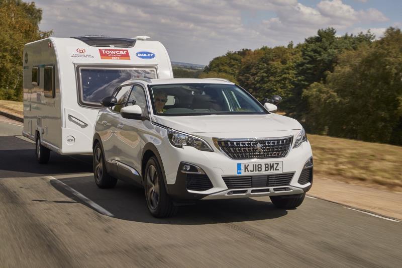 El Peugeot 3008 gana una nueva categoría de los premios Towcar of the Year Awards 2019