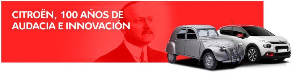 Citroën celebra su centenario con acciones durante todo el 2019