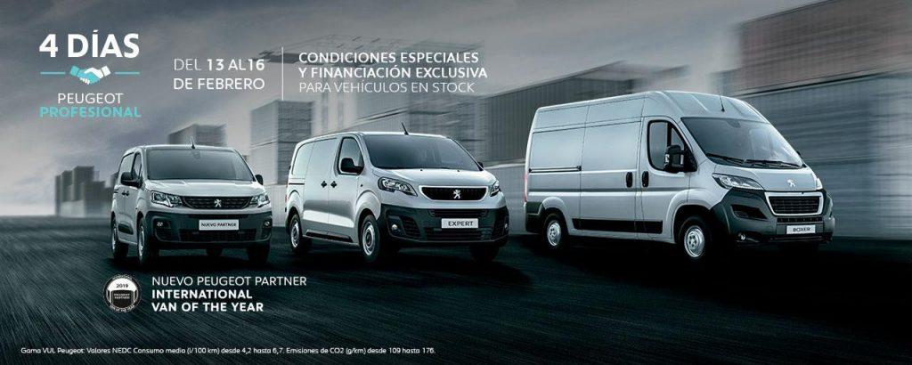 4 Días Peugeot Profesional